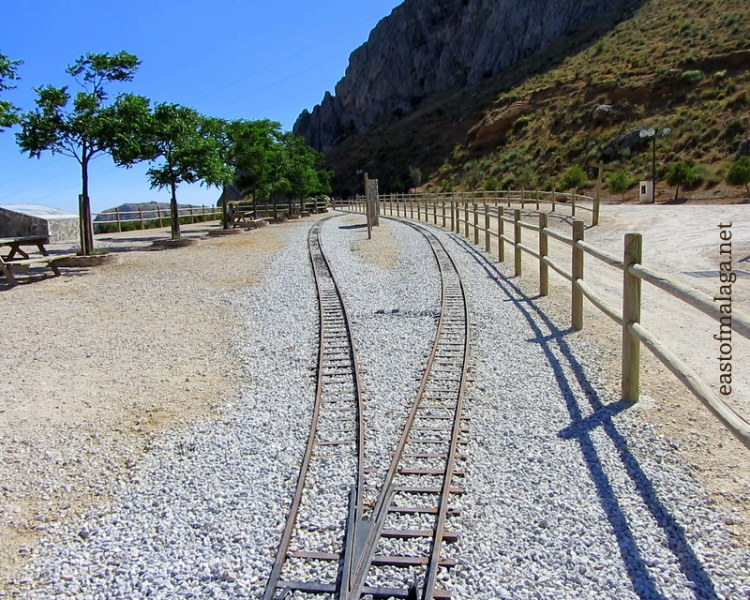 Old train line, Zafarraya