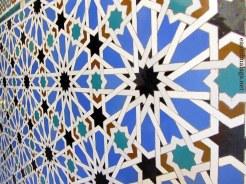 Tiles in the Royal Alcazar, Seville