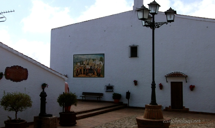 Plaza de los verdiales, Comares