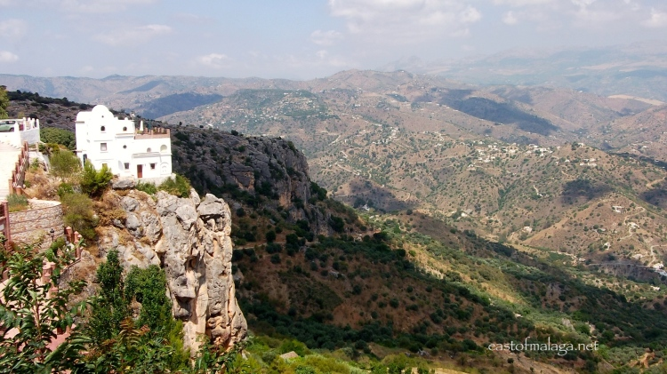 Stunning views from Comares