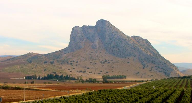 Sleeping Giant mountain, outside Antequera