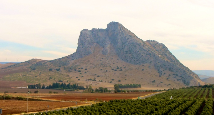 Sleeping Giant mountain, outside Antequera