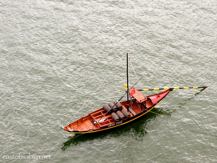 Traditional transport for Port wine on the River Douro, Porto, Portugal