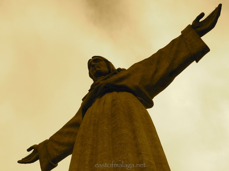 Statue of Christ keeping watch over Lisbon, Portugal