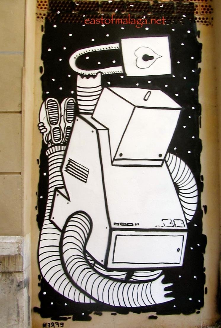 Street Art in Malaga - Málaga Arte Urbano en el SoHo (MAUS)