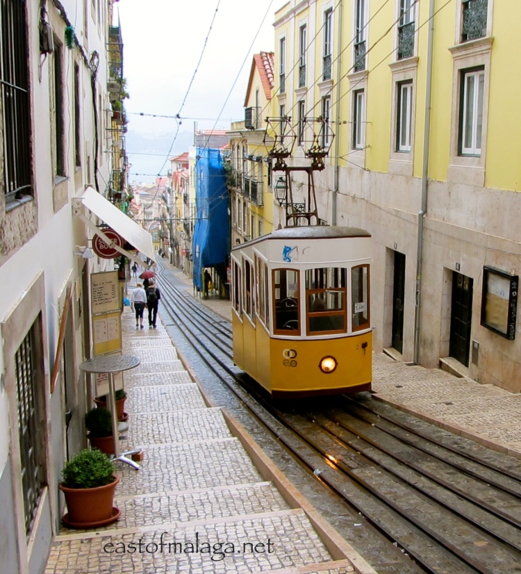 One of Lisbon's iconic trams