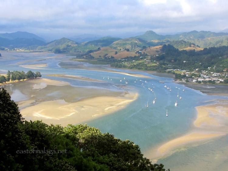 View from Paku Hill, Tairua, New Zealand
