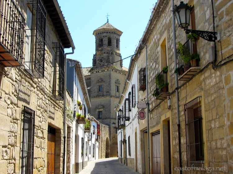Renaissance town of Baeza, Jaen, Spain