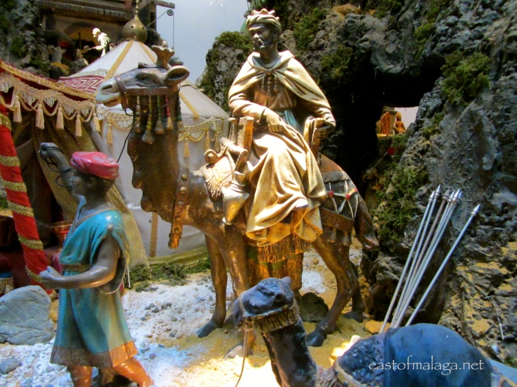Nativity scene at Malaga Town Hall