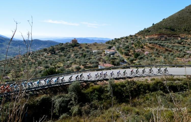 Vuelta de Andalucia cycle race, Spain
