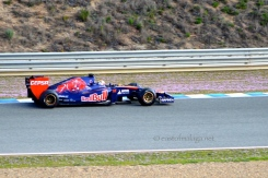 Torro Rosso at Jerez winter testing 2014
