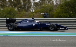 Williams at winter testing, Jerez, Spain