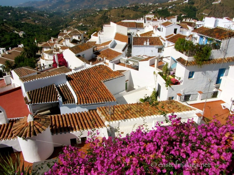 Rooftops of Frigiliana, Spain