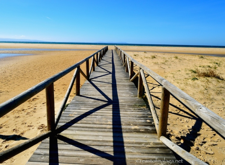 Costa de a Luz, Spain - towards the sea