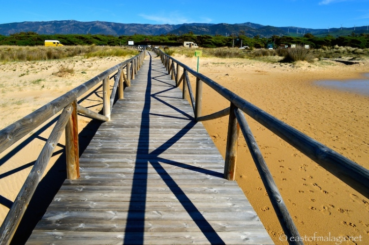 Costa de la Luz, Spain - towards the mountains