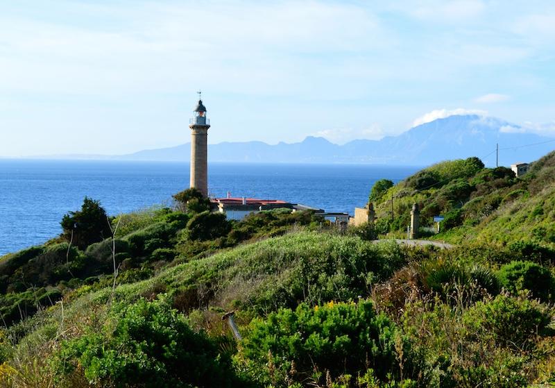 Glorious views from Punta Carnero, Algeciras towards Africa
