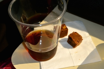 Sherry and home-made fudge