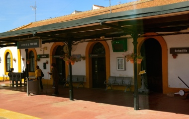 mena de la Frontera railway station, Spain