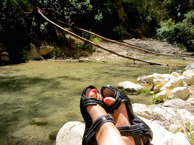 In my shoes - Rio Chillar, Nerja
