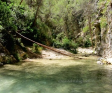 Time for a swim in the pool, River chillier, Nerja