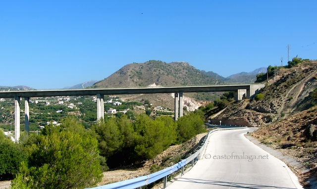 Motorway bridge over Rio Chillar, Nerja