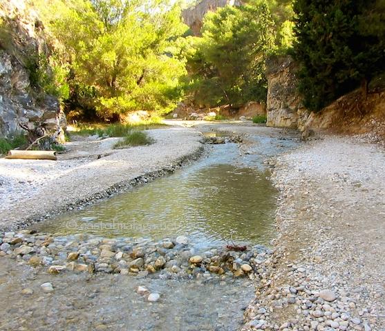 River walk along the Rio Chillar, Nerja