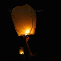 Wordless Wednesday: Goodbye Sky Lantern
