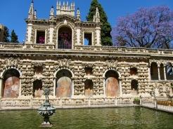 Alcazar gardens, Seville.
