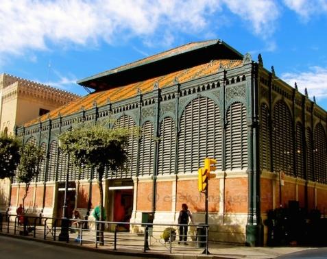 Atarazanas market, Malaga