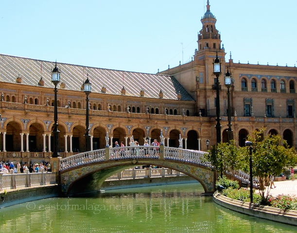 Bridge at Plaza España, Seville