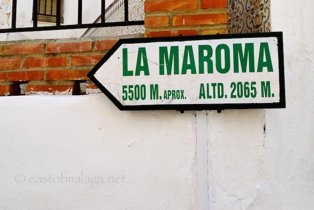 Pathway to La Maroma, Canillas de Aceituno