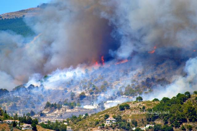 Competa fire June 29th 2014