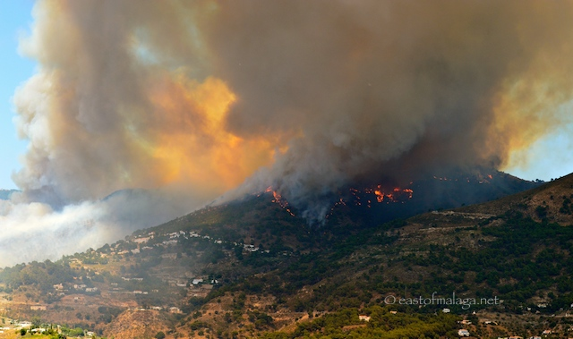 Competa fire June 29th 2014