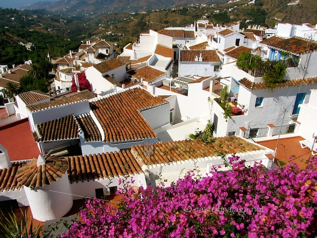 Rooftops of Frigiliana, Spain