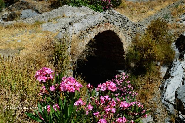 Roman bridge, Sedella, Spain