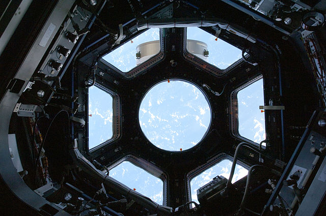 640px-STS130_cupola_view1