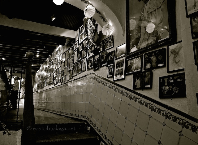 Inside Bodega Bar El Pimpi Malaga East Of Malaga