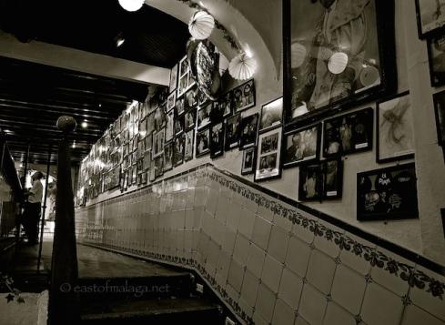 Inside Bodega Bar El Pimpi, Malaga