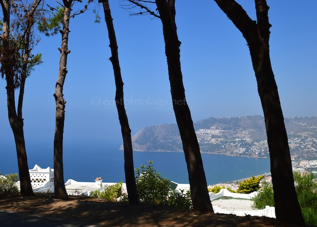 View across La Herradura Bay