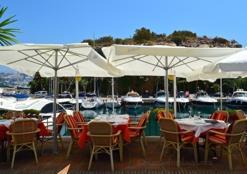 Lunch at Marina del Este