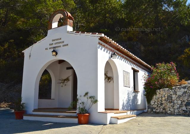 Tiny chapel, El Acebuchal