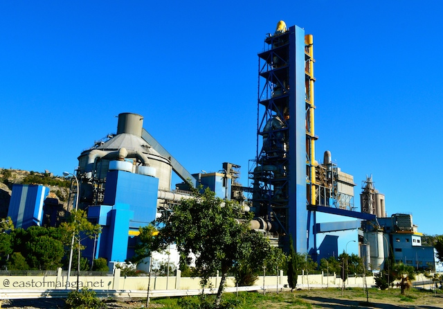Concrete factory at La Arana