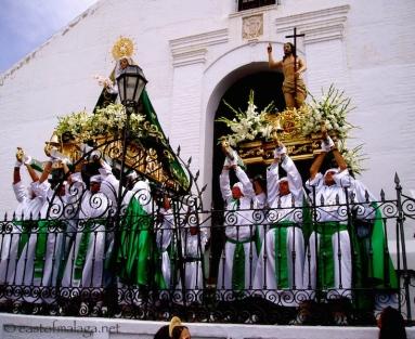Semana Santa in Frigiliana, Spain