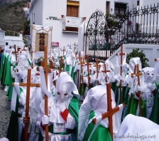 Semana Santa in Frigiliana, Spain