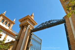Entrance to the old Tobacco Factory, Malaga