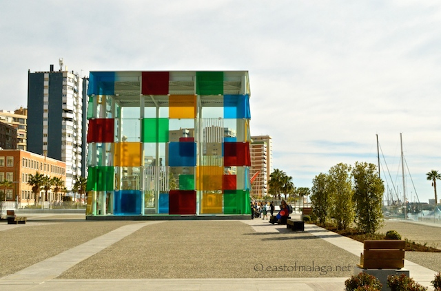 New-look Pompidou Centre, Malaga