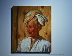 The Moroccan by John Currin at Centre Pompidou, Malaga
