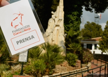 My press pass for the Nerja caves!