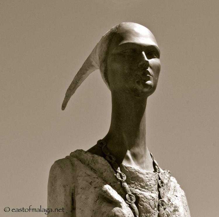 Phoenician goddess, Malac in Malaga province, Spain