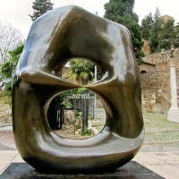 Malaga: the city that gives you Moore - Henry Moore!